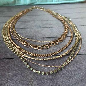 Rose Gold Stella & Dot Necklace